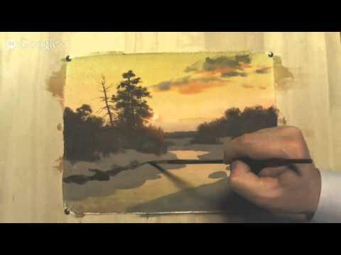 Сергей андрияка картины акварелью уроки рисования