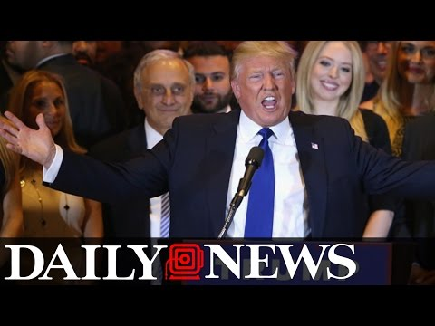 Donald Trump Speaks After New York Primary Win