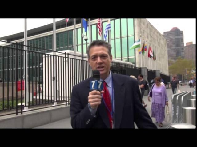 Mark Langfan @ UN HQ