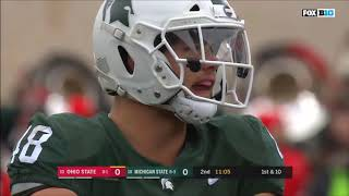 2018 - Ohio State Buckeyes at Michigan State Spartans in 40 Minutes