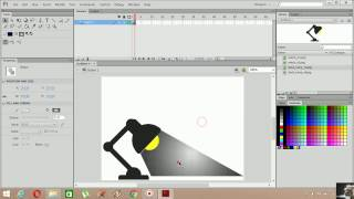 Flash Cs6 AS 3.0 Aç-Kapat Lamba Animasyonu (On-Off Lamp Animation)