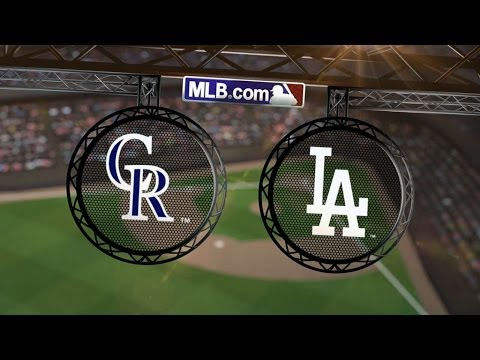 6/18/14: Kershaw tosses no-hitter against Rockies