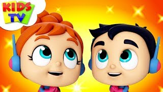 No No Song | The Supremes Cartoon Videos |  Preschool Songs by Kids Tv