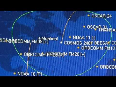 Cosmos 2407 Russian LEO satellite