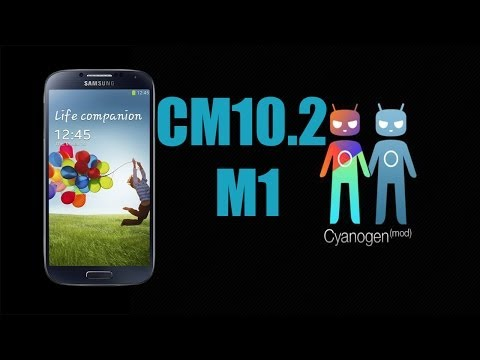 CyanogenMod 10.2 On Samsung Galaxy S4 IV I9500 4.3. Jelly Bean A Must