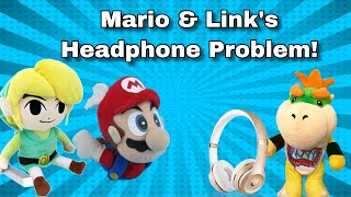 Plush Creations: Mario and Link's Headphone Problem!