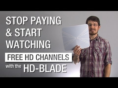 Hands on With the HD-Blade Indoor TV Antenna From Solid Signal
