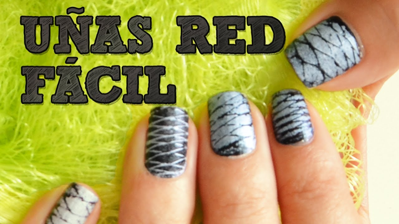U as de red f cil u as decoradas diy decoraci n de for Decoracion de unas con esmalte