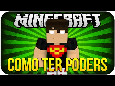 Como ter poder no Minecraft (SEM MODS) - Minecraft Tutorial 3