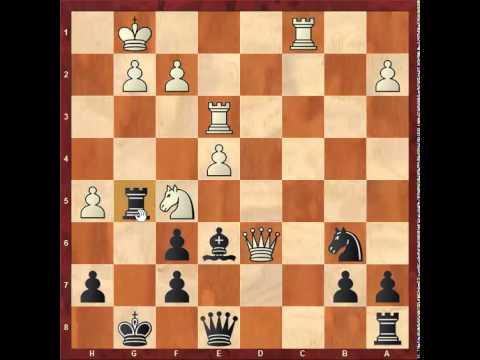 Chess: Eric Lobron 2545 - Susan Polgar 2500, Queen's Gambit Declined http://sunday.b1u.org