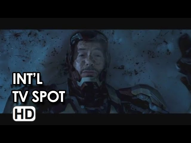 Iron Man 3 International TV Spot #2 (2013)