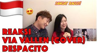 Orang Korea Reaksi Despacito Dangdut Koplo - Cover by Via Vallen Reaction