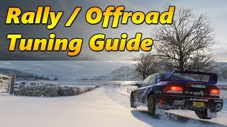 Forza Horizon 4 Rally / Offroad Guide - How to Tune and Drive