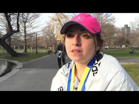 Alaina Belanger ran Boston marathon for cousin that died in Iraq