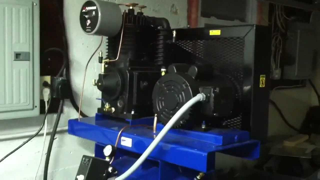 Polar Air Compressor Overview And Noise Demonstration