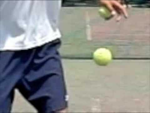 テニスの素振り2