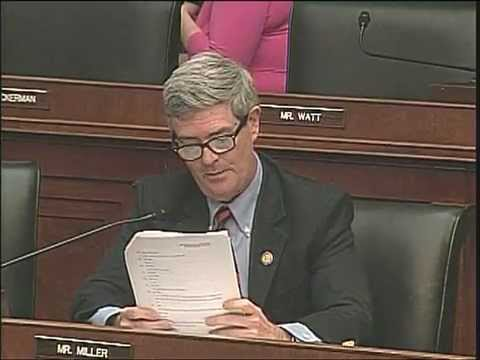 Rep. Miller questions Treasury Secretary Timothy Geithner