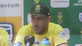 Du Plessis, Miller set up comprehensive Proteas victory