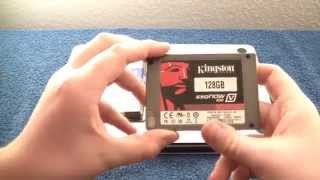 MacBook Pro SSD and Ram Upgrade ( Kingston SSD Now 100 V Review )