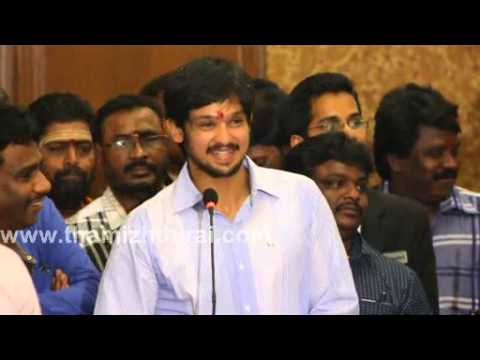 Nakul Speech at Narathan Movie Launch