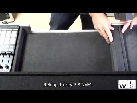 ▶Flight case maleta para Kontrol S4, MIXTRACKPRO,MIXQUAD,  Gemini  G2, VMC6000MKII  WMCPRO4 F1