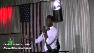 Chief Obi at UMBC Part 2 of 2