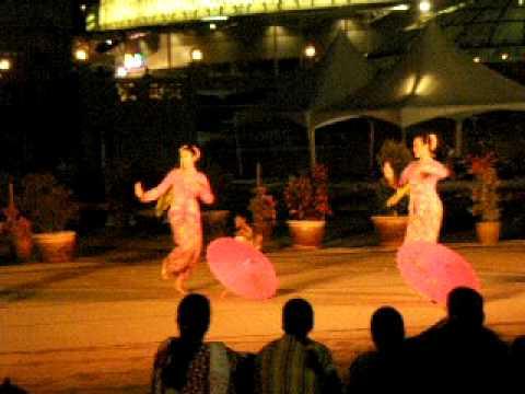 Baba  Nyonya dance at the Malacca Heritage Day Dance festival. Malaysia