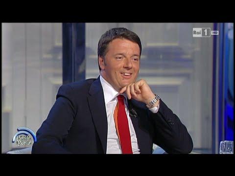 Matteo Renzi - Porta a Porta 16/06/2015