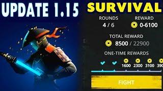 Shadow Fight 3 Update 1.15. Survival Mode. New Duel Marathon. AI Changes.
