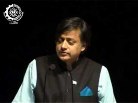 Dr.shashi Tharoor At Iim Calcutta video