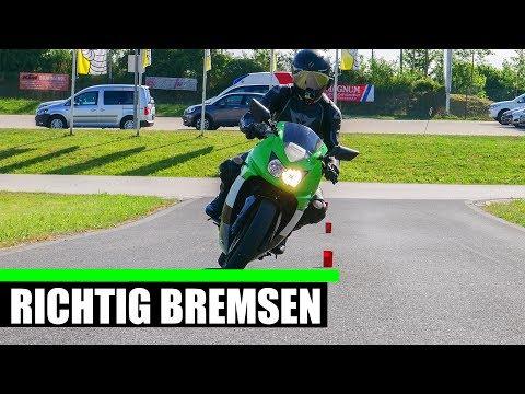 MOTORRAD RICHTIG BREMSEN + GEFAHRENBREMSUNG