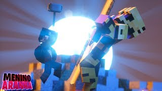 Minecraft: MENINO ARANHA -  O THANOS APARECEU!! (ULTIMATO) #371