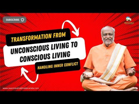 Living Consciously - Handling Inner Conflict (bhagavad Gita Vol. 1 & 2) video
