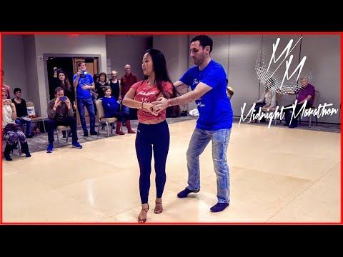 Movement - Us | Brazilian Zouk Dance | Eddie Bonnell & Emi Ferguson | Midnight Marathon [za]