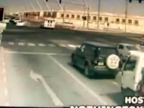 choques de autos en vivo (impresionantes)