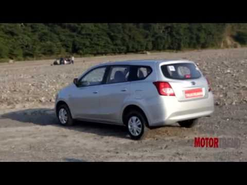 Datsun Go+ Plus Test Drive Review - Motor Trend India
