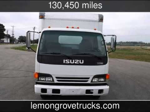 2005 Isuzu Npr 12ft Box Truck Lift Gate For Sale W4500 Gmc