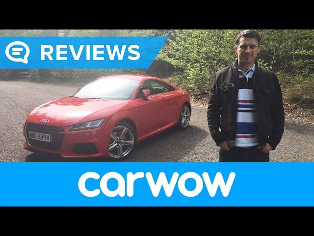 Audi TT Coupe 2017 review | Mat Watson Reviews - YouTube