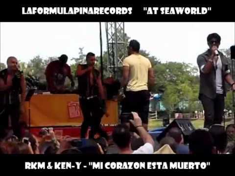 Rkm & Ken-y - Mi Corazon Esta Muerto (at Seaworld) 2012 Pinarecords video