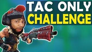 TACTICAL SHOTGUN ONLY CHALLENGE   DAEQUAN GOT BARS   HIGH KILL FUNNY GAME - (Fortnite Battle Royale)