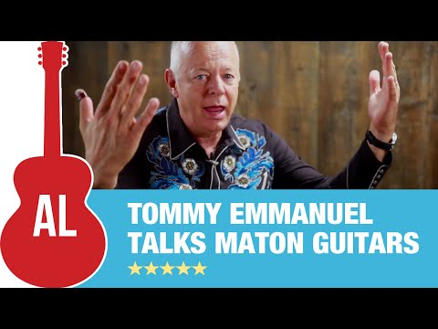 Tommy Emmanuel Talks Maton Guitars With Tony Polecastro (1 Of 2) video