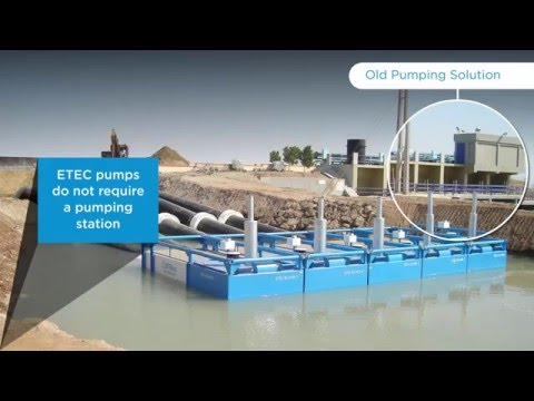ETEC Floating Pumps Against other Pumping Solutions For Water Management - ETEC S.A.