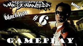 NFS Most Wanted-#6 Blacklist-Rival MING -GAMEPLAY-[HD]