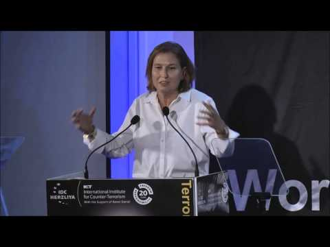 The Honorable MK Tzipi Livni - ICT's 14th International Conference