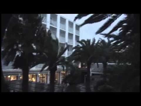 Tropical Storm in San Antonio Bay Ibiza Spain October 2010.flv