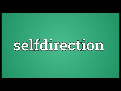 Header of Selfdirection