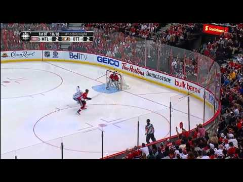 Full Overtime Kyle Turris Goal (Montreal Canadiens vs Ottawa Senators Playoffs May 7, 2013) NHL HD