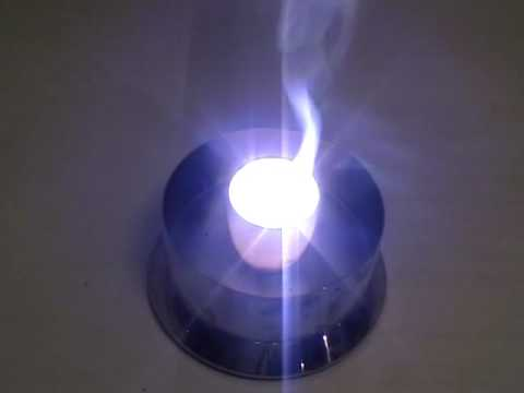 combustion of magnesium oxide When the magnesium was supplied with energy in the crucible, it reacted with a limited quantity of oxygen by using the lid to prevent high exothermic energy (magnesium would react vigorously.