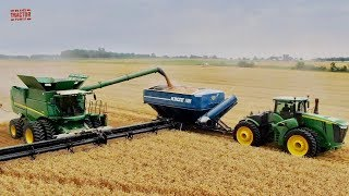 2019 Wheat Harvest 1,200 Bushels at a Time