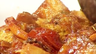 Ashpazi - Chicken with Potato   آشپزی – گوشت مرغ با کچالو